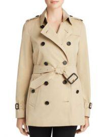 Burberry Heritage Kensington Short Trench Coat Women - Bloomingdale s at Bloomingdales