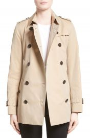 Burberry Kensington Short Trench Coat at Nordstrom