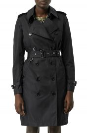 Burberry Kensington Trench Coat with Detachable Hood   Nordstrom at Nordstrom