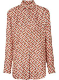 Burberry Monogram Print Shirt - Farfetch at Farfetch