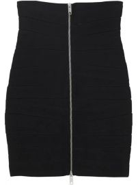 Burberry Stretch Zip-front Bandage Skirt - Farfetch at Farfetch