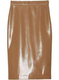 Burberry Vinyl Pencil Skirt - Farfetch at Farfetch