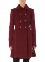 Burgundy coat like Robins at Dorothy Perkins