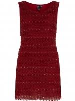 Burgundy mini dress from Dorothy Perkins at Dorothy Perkins