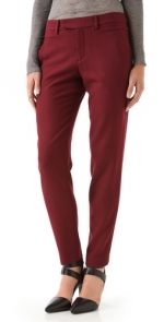 Burgundy trousers like Robins at Shopbop