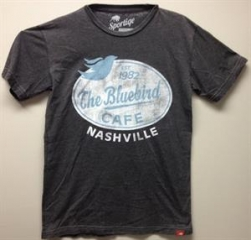 Burnout Tee at Bluebird Cafe