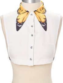 Butterfly collar dickey at Zulily