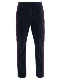 Butterfly-embroidered cotton-blend trousers at Matches