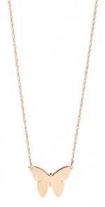 Butterfly necklace by Jennifer Zeuner at Shopbop