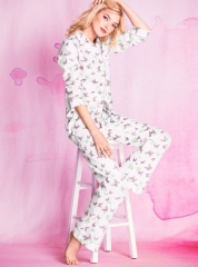 Butterfly print pajamas at Victoria's Secret