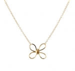 Butterfly twist necklace by Peggy Li at Peggy Li
