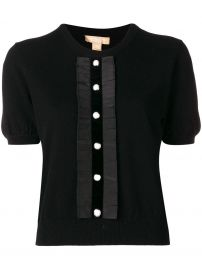 Button Front Knitted Top by Michael Kors at Farfetch
