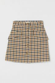Button Front Skirt at H&M