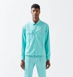 Button Up Work Shirt by Not of this Earth at PacSun
