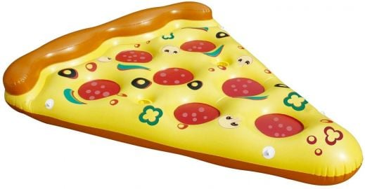 By PoolCentral 70 5 quot  Inflatable and Connectable Pizza Slice Novelty Swimming Pool Raft Float at Amazon