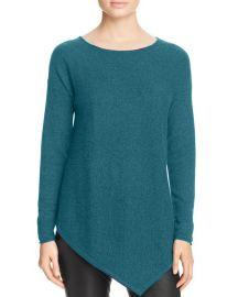 C by Bloomingdales Asymmetric Cashmere Sweater at Bloomingdales
