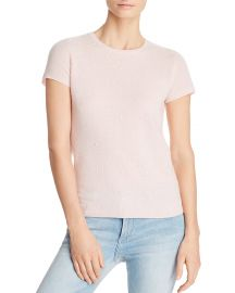 C by Bloomingdales Embellished Lightweight Cashmere Crewneck at Bloomingdales