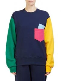 C  dric Charlier - Colorblock Sweatshirt at Saks Fifth Avenue