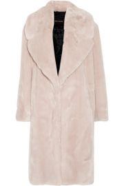 C  dric Charlier   Oversized faux fur coat at Net A Porter