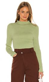 C MEO Rapidity Top in Lime from Revolve com at Revolve