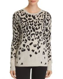 C by Bloomingdale  x27 s Cascade Leopard Cashmere Sweater - 100  Exclusive  Women - Bloomingdale s at Bloomingdales