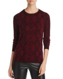 C by Bloomingdale  x27 s Snake Print Cashmere Sweater - 100  Exclusive  Women - Bloomingdale s at Bloomingdales