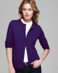 C by Bloomingdaleand039s Cashmere Crewneck Cardigan at Bloomingdales