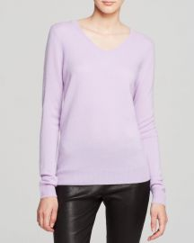 C by Bloomingdales V-Neck Cashmere Sweater at Bloomingdales