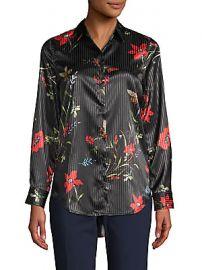 CAARA - Purley Floral Shirt at Saks Off 5th