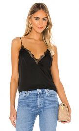 CAMI NYC The Chanelle Cami in Black from Revolve com at Revolve