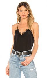 CAMI NYC The Racer Cami in Black from Revolve com at Revolve