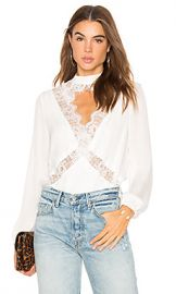 CAMI NYC The Skylar Blouse in White from Revolve com at Revolve