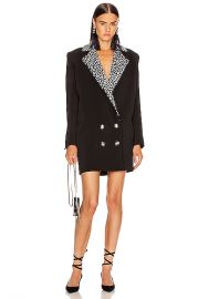 CARMEN MARCH Double Label Coat Dress in Black   FWRD at Forward