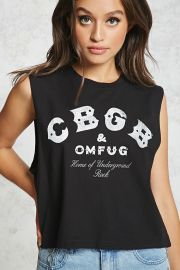 CBGB Graphic Muscle Tee at Forever 21