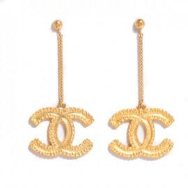 CC Drop Earrings by Chanel at The Real Real