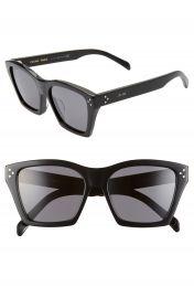 CELINE Adjusted Fit 56mm Cat Eye Sunglasses   Nordstrom at Nordstrom