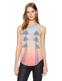 CHASER Women s Vintage Jersey Basic Muscle Tank at Amazon