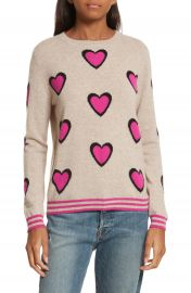 CHINTI   PARKER Heart Burst Cashmere Sweater at Nordstrom