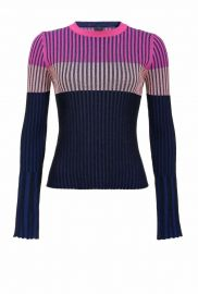 COLOUR-BLOCK SWEATER at Pinko