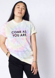 COME AS YOU ARE PRIDE TEE at WildFang