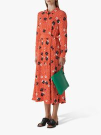 CONFETTI FLORAL SHIRT DRESS at Whistles