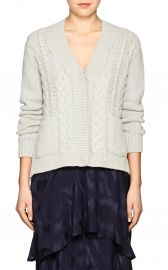 Cable-Knit Cashmere Cardigan by Barneys New York at Barneys