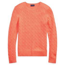Cable Knit Cashmere Sweater by Ralph Lauren at Ralph Lauren