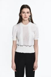 Cable Knit top at 3.1 Phillip Lim