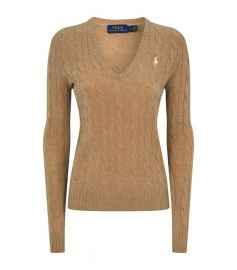 Cable Wool-Cashmere Sweater at Ralph Lauren