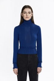 Cable knit Turtleneck at 3.1 Phillip Lim