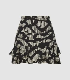 Cadence Mini Skirt by Reiss at Reiss