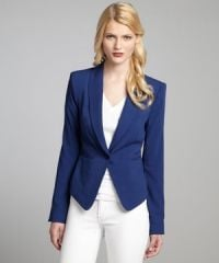 Cadet Blue Blazer by Bcbgmaxazria at Bluefly