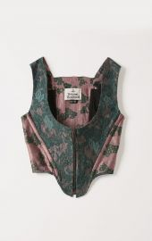 Cage Green Floral Corset by Vivienne Westwood at Vivienne Westwood