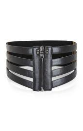 Cage zip waist belt at Bcbg